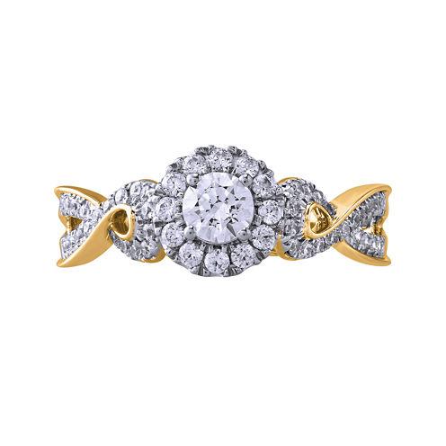 Opulent Diamond 5/8 CT. T.W. Certified Diamond 14K Yellow Gold Ring