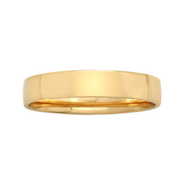 jcpenney.com |  Mens Comfort Fit 5mm 10K Yellow Gold Wedding Band