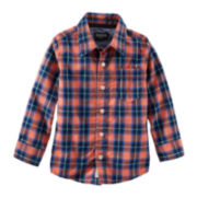 OshKosh B'gosh® Plaid Button-Front Shirt - Boys 4-14