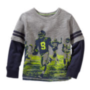 OshKosh B'gosh® Long-Sleeve Football Graphic Tee - Toddler Boys 2t-5t