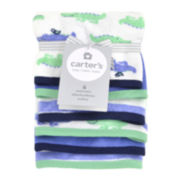 Carter's® 6-pk. Alligator-Print Washcloths