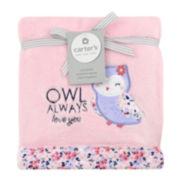Carter's® Floral Owl Blanket