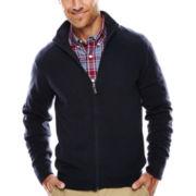 Dockers® Full-Zip Soft Acrylic Sweater
