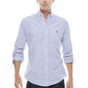 U.S. Polo Assn.® Long-Sleeve Poplin Shirt