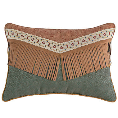 Jcpenney Red Decorative Pillows : Croscill Classics Tucson Oblong Decorative Pillow - JCPenney