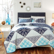 KD Spain Sedona Reversible Quilt Set