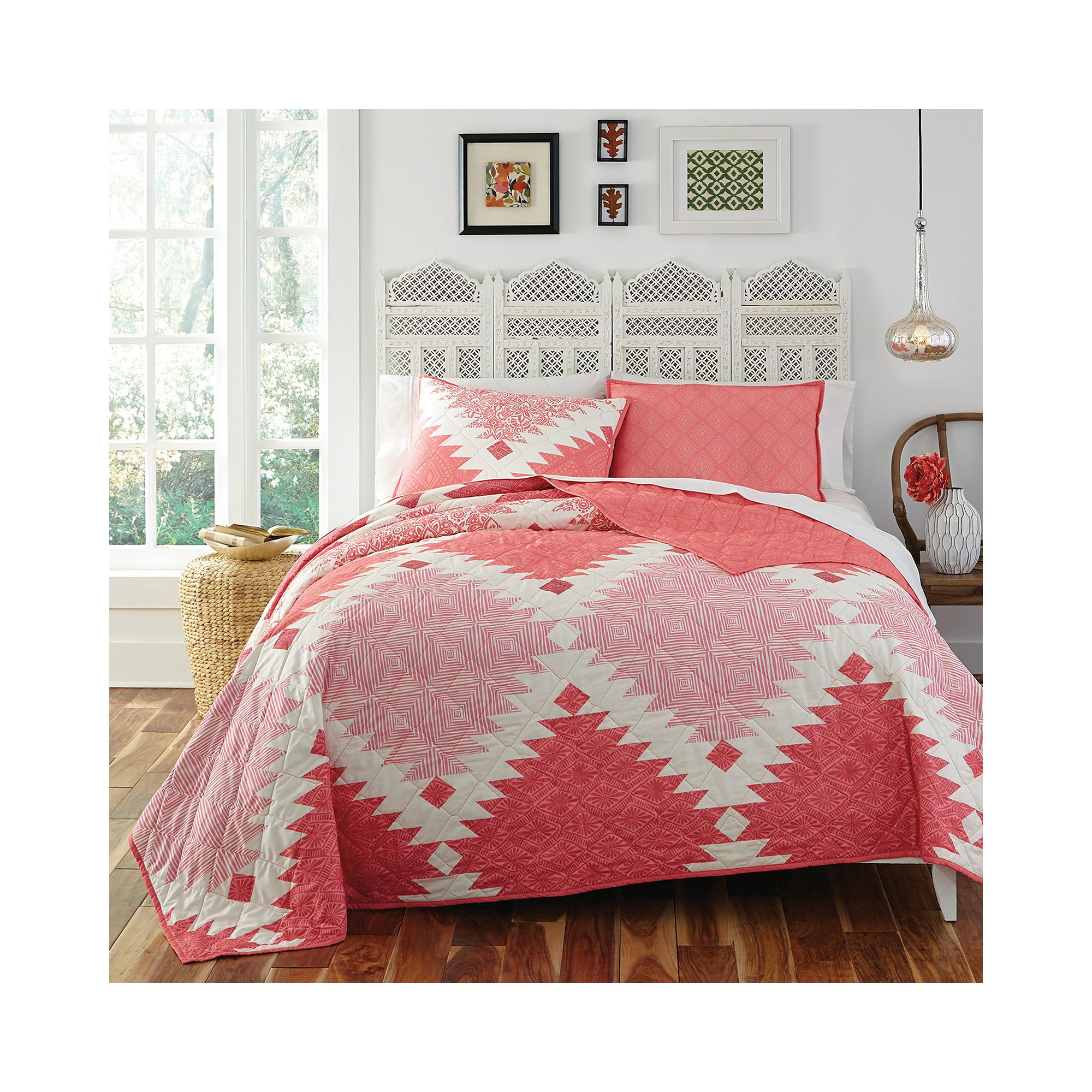 KD Spain Kaleo 3-Pc. Reversible Quilt Sets