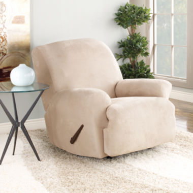 jcpenney.com | SURE FIT® Stretch Faux-Suede 1-pc. Recliner Slipcover