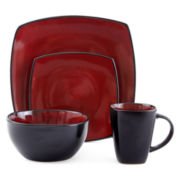 Gibson® Infinite Glaze 16-pc. Dinnerware Set