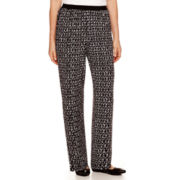 Alfred Dunner® Keep It Modern Texture-Spliced Print Pants