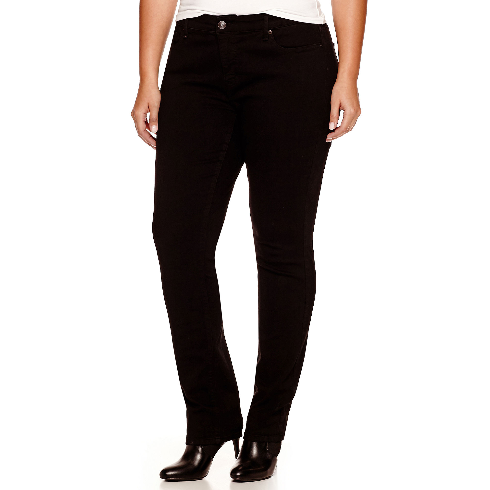 Stylus™ Straight Jeans - Plus plus size,  plus size fashion plus size appare