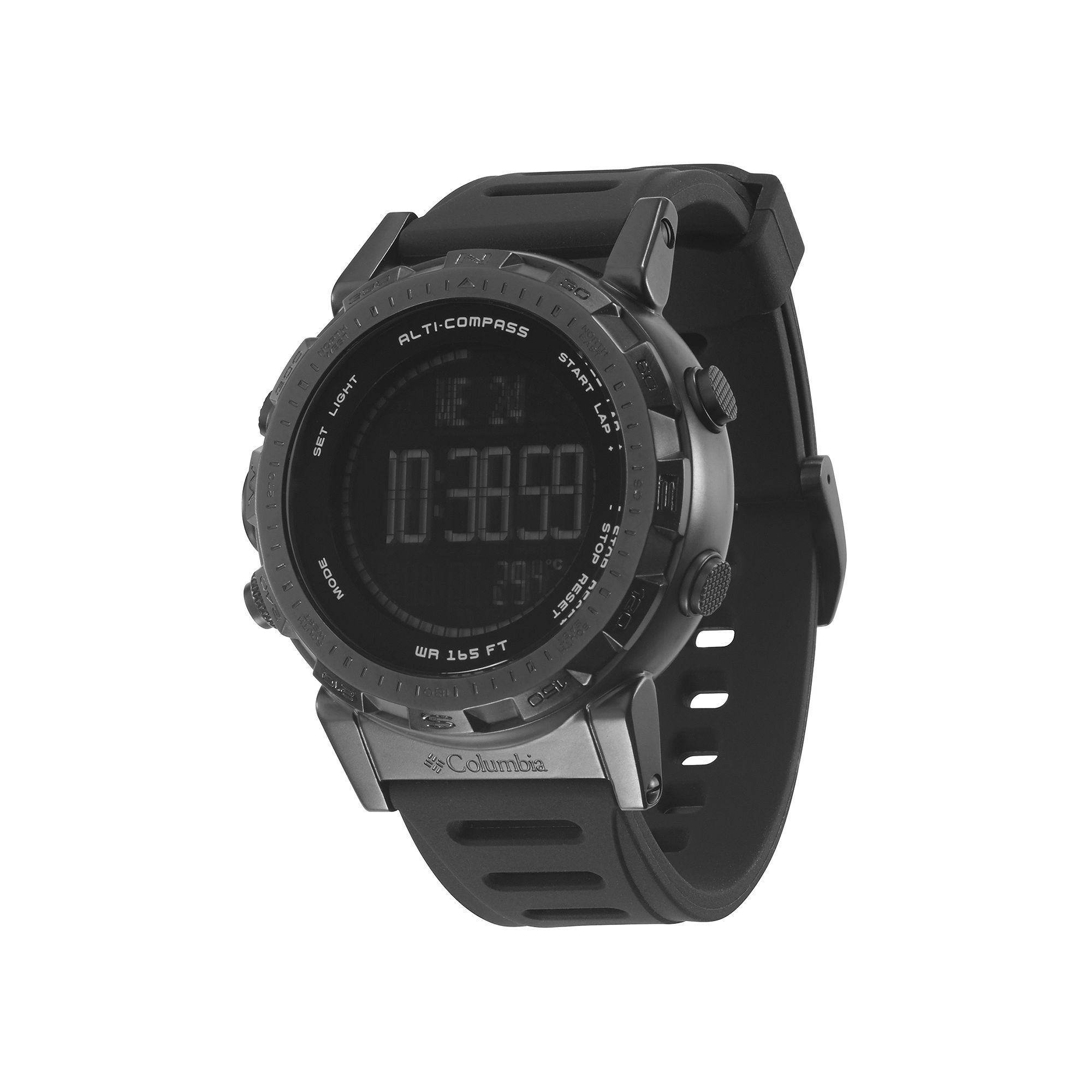 ... UPC 813928015366 product image for Columbia Sportswear Co. Ascent Mens  Black Bezel Chronograph Sport Watch ...
