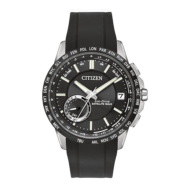 jcpenney.com | Citizen® Eco-Drive® Satellite Wave-World Time GPS Mens Watch CC3005-00E