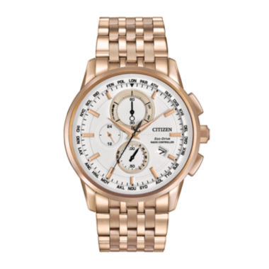 jcpenney.com | Citizen® Eco-Drive® World Chronograph A-T Mens Watch AT8113-55A