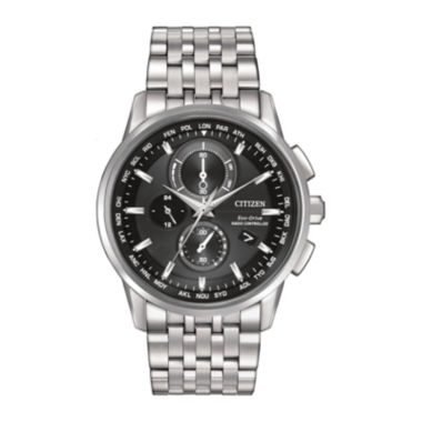 jcpenney.com | Citizen® Eco-Drive® World Chronograph A-T Mens Watch AT8110-53E