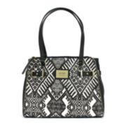 nicole by Nicole Miller® Cassidy Triple-Pocket Tote