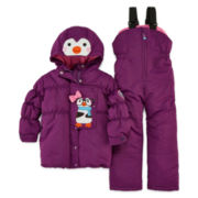 Luvgear Penguin Snowsuit - Toddler Girls 2t-4t
