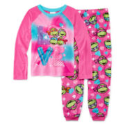 Teenage Mutant Ninja Turtles Pajama Set - Girls 4-10
