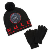 Star Wars™ Rule The Galaxy Beanie and Gloves Set - Boys