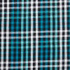 Aqua Shadow Plaid