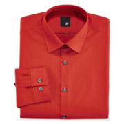 JF J. Ferrar® Slim-Fit Solid Dress Shirt - Big & Tall