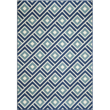 jcpenney.com | Momeni® Baja Diamond Indoor/Outdoor Rectangular Rug