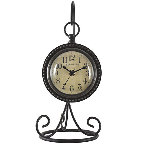 FirsTime® Charmed Hanging Tabletop Clock