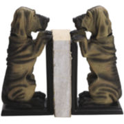 Set of 2 Hound Dog Bookends