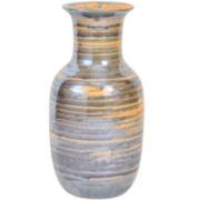 Reactive Scratch Vase Green