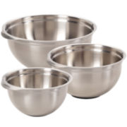 KitchenAid® Gourmet 3-pc. Stainless Steel Mixing Bowls