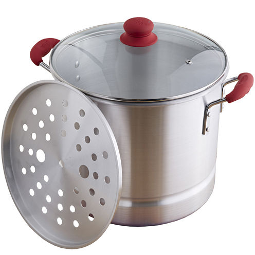 IMUSA Global Kitchen 8-qt. Stainless Steel Steamer