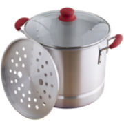 IMUSA Global Kitchen 20-qt. Stainless Steel Steamer