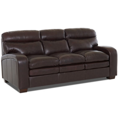 jcpenney.com | Frank Leather Sofa