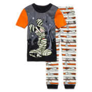 Disney Collection Mickey Mouse Halloween Pajama Set - Boys 2-8