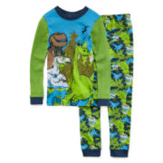 Disney Collection Dinosaur Pajama Set - Boys 2-10