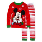Disney Collection Mickey Mouse Christmas Pajama Set - Boys 2-8