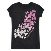 Disney Collection Minnie Mouse Bow Graphic Tee - Girls 2-12