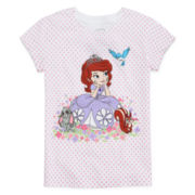 Disney Collection Sofia the First Graphic Tee - Girls 2-12