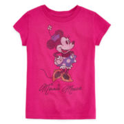 Disney Collection Minnie Mouse Graphic Tee - Girls 2-12