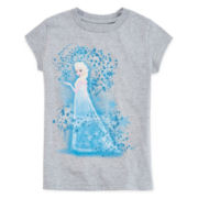 Disney Collection Frozen Elsa Graphic Tee - Girls 2-12
