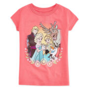 Disney Collection Frozen Graphic Tee - Girls 2-12