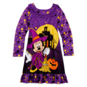 Disney Collection Minnie Mouse Halloween Nightgown - Girls 2-10