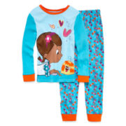 Disney Collection Doc McStuffins Pajama Set - Girls 2-10