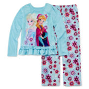 Disney Collection Frozen Pajama Set - Girls 2-10