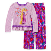 Disney Collection Rapunzel Pajama Set - Girls 2-10