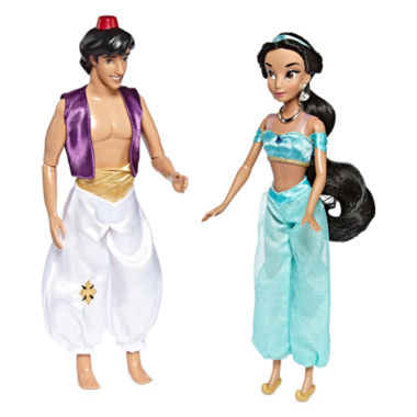 jcpenney.com | Disney Collection Aladdin and Jasmine Dolls