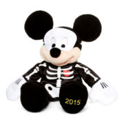 Disney Collection Mickey Mouse Skeleton Plush 2015