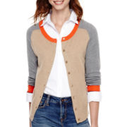 Stylus™ Long-Sleeve Button-Front Cardigan