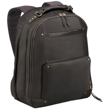 jcpenney.com | SOLO Vintage Leather Laptop Backpack