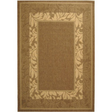 "jcpenney.com | Courtyard Multi Border Indoor/Outdoor Rectangular Rugs - 5'3""X7'"